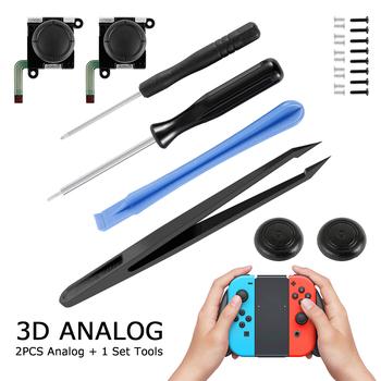 3D Analog Gamepad Thumb Stick na przełącznik do nintendo NS moduł czujnika Joystic Repair Tool do wymiany gier JoyCon tanie i dobre opinie JTWEB NINTENDO SWITCH Games Accessories joycon switch 6 10 16Pcs a set