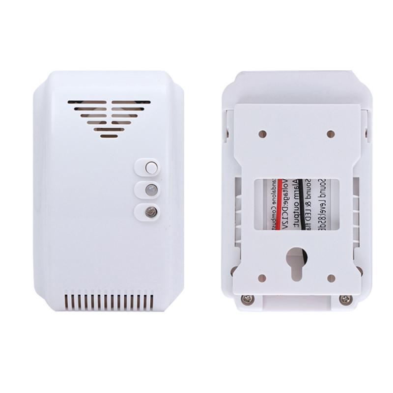 2019 New Combustible Gas Alarmer High Precision Kitchen Gas Leak Detector Fire Alarm Gas Alarm