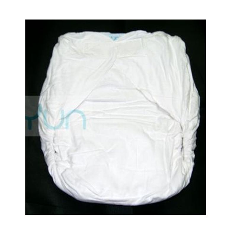 Free Shipping NICEDIAPER2006-WHITE-90-130CM    Adult Diaper/ Incontinence Pants /Breathable Cotton