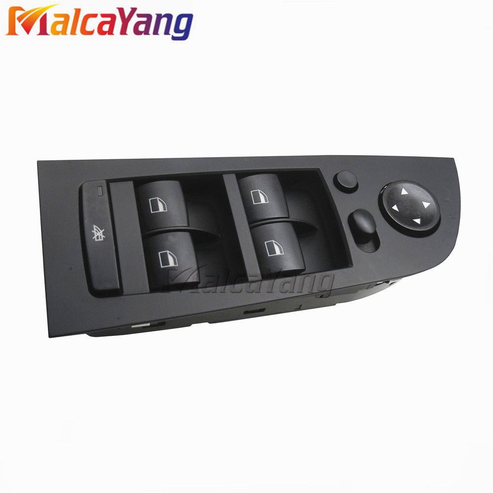 Left Black Window Mirror Switch Control Unit For BMW E90 E91 318i 320i 325i