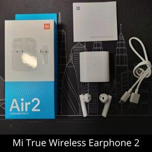 Image 2 - XIAOMI Airdots פרו אוויר 2 Mi אמיתי אלחוטי אוזניות אוויר 2 TWS Bluetooth 5.0 14H חיי סוללה Headset Mi AI קול שליטה LHDC שליטה ברז