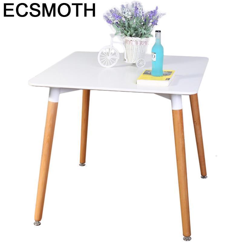 Moderne Dinning Set Tafel Tavolo A Langer Escrivaninha Meja Makan Shabby Chic Wooden Desk Comedor Mesa De Jantar Dining Table
