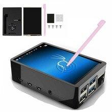 3.5 אינץ TFT LCD מגע מסך + ABS מקרה + מגע עט LCD תצוגת HDMI קלט צג לפטל pi 4 B