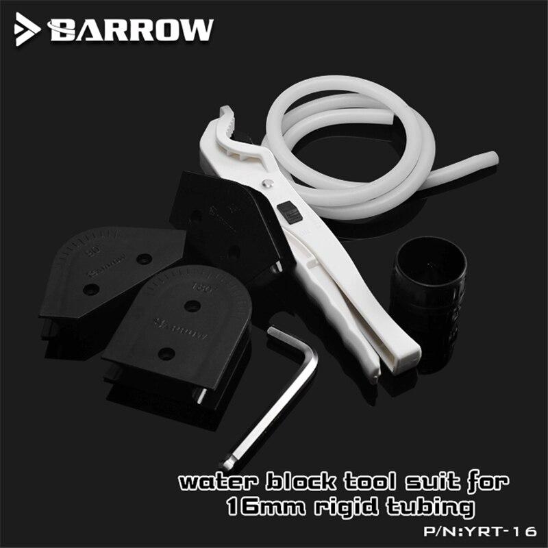 Barrow 12mm 14mm 16mm Hard Pipe Bender Rigid Tubing Machining Water Cooling Tool Kit YRT