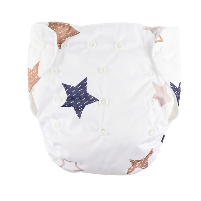 Luminous Stars Cotton Reusable Diaper