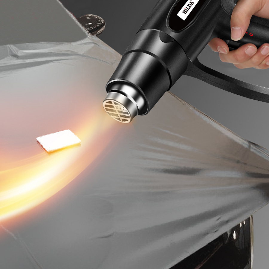 2000W Hot Air Gun Industrial Plastic Welding Torch Wind Rushing Machine Baking Gun Heat Shrinkable Hair Dryer