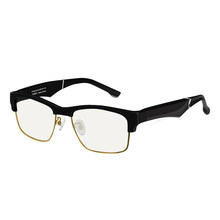 K2 نظارات ذكية لاسلكية 5.0 بلوتوث 90mAh USB سيارة حر اليدين الاتصال الصوت فتح الأذن العدسات المضادة للأشعة الزرقاء ذكي النظارات الشمسية
