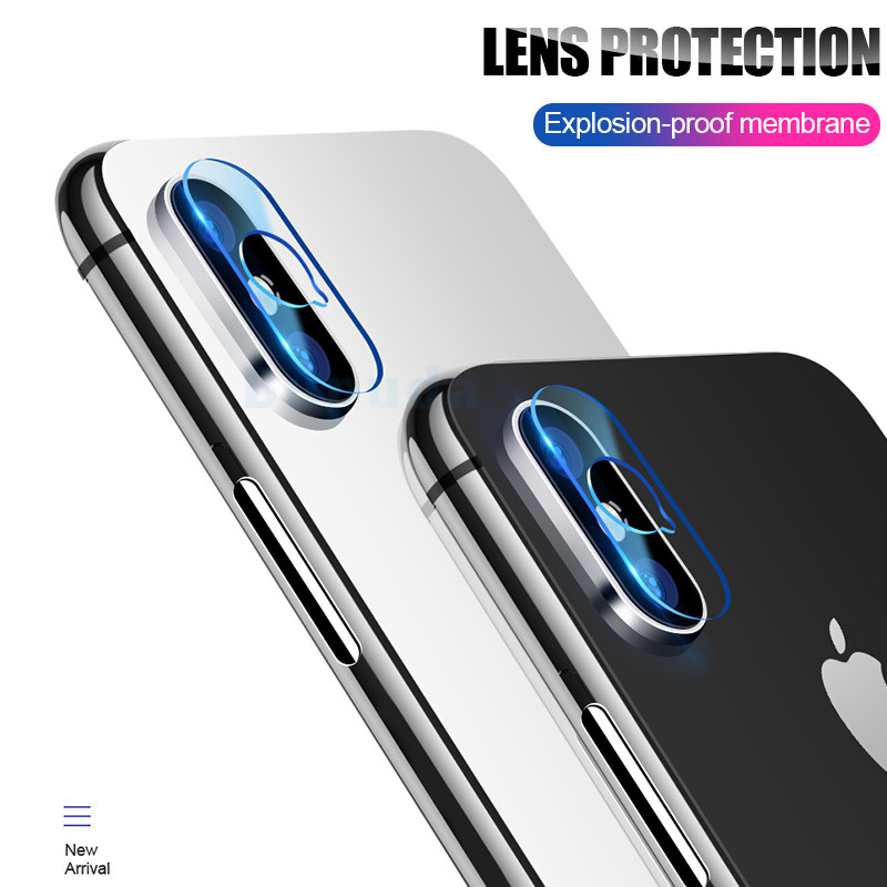 Camera Protector For IPhone X XR 11 Pro Xs Max Lens Protective Screen Glass On For IPhone 6 6s 7 8 Plus Camera Accessories Glass