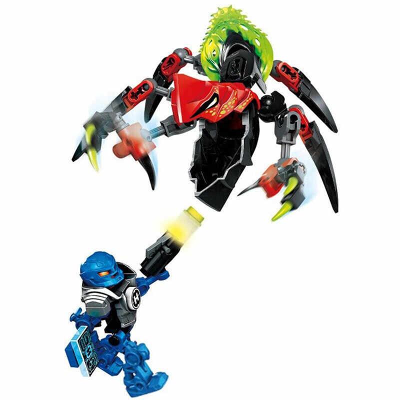 2019 Hero Fabbrica StarWar Soldati Robot Compatibile Per legoing Hero Fabbrica 4 5 6 Von Nebula Bionicle Mattoni FAI DA TE Giocattoli