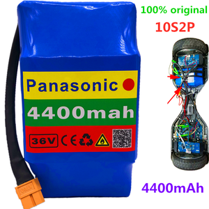 100% New Original 36v 4.4ah lithium battery 10s2p 36v battery 4400mAh lithium ion pack 42V 4400mah scooter twist car battery