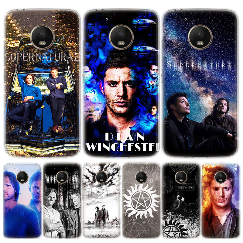 Supernatural SPN Jensen Ackles Phone Case For Motorola MOTO G8 G7 G6 G5 G5S G4 E6 E5 E4 Plus Play Power One Action Soft Silicone