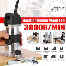 Electric Trimmer Woodworking-Tool Palm-Router Edge-Joiners Wood Laminate 800W 3000rpm