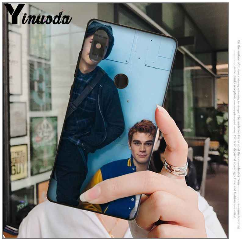 Yinuoda Nóng TRUYỀN HÌNH Riverdale (Hoa văn TPU Mềm Mại Ốp Lưng điện thoại Tiểu Mi Mi 6 Note3 8 8SE Đỏ MI 5 5Plus Note4 4X Note5 Điện Thoại Di Động
