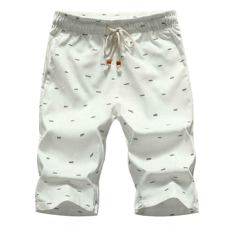 5XL Heren Shorts Zomer Kleding Casual Korte Broek Katoen Mannelijke Strand Korte Broek Heren Plus Size Sneldrogende Boardshorts 2020 blauw