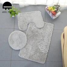 Набор из 3 предметов набор ковриков для ванной коврик унитаза