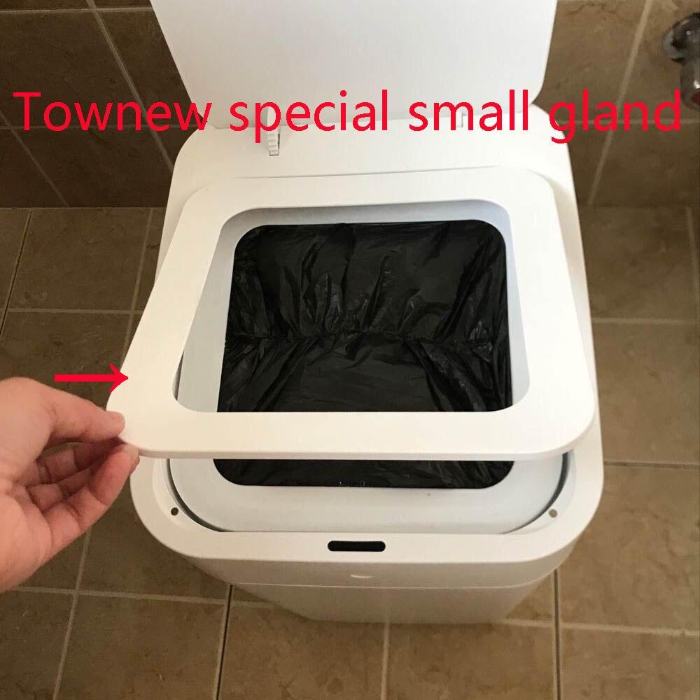 Original xiaomi townew T1 smart poubelle accessoires gland anneau adaptateur d'alimentation remplacement sac à ordures