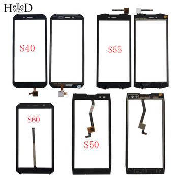 Mobile Touch Screen Panel For Doogee S40 S50 S55 S60 Touch Digitizer Panel Front Glass Lens Sensor TouchScreen 3M Glue Wipes 5 0inch touchscreen for doogee x50 sensor digitizer front glass doogee x50l outer lens touch screen for x50 x50l black