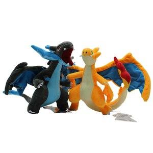Mega Charizard Plush Toys Charizard Y Pikachued Plush Doll Stuffed Soft Good Quality Great Gift