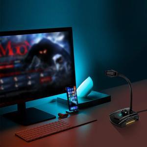 Image 2 - USB микрофон MAONO GM30, конденсаторный игровой микрофон для подключения и воспроизведения, бесшумный микрофон для записи YouTube Skyp