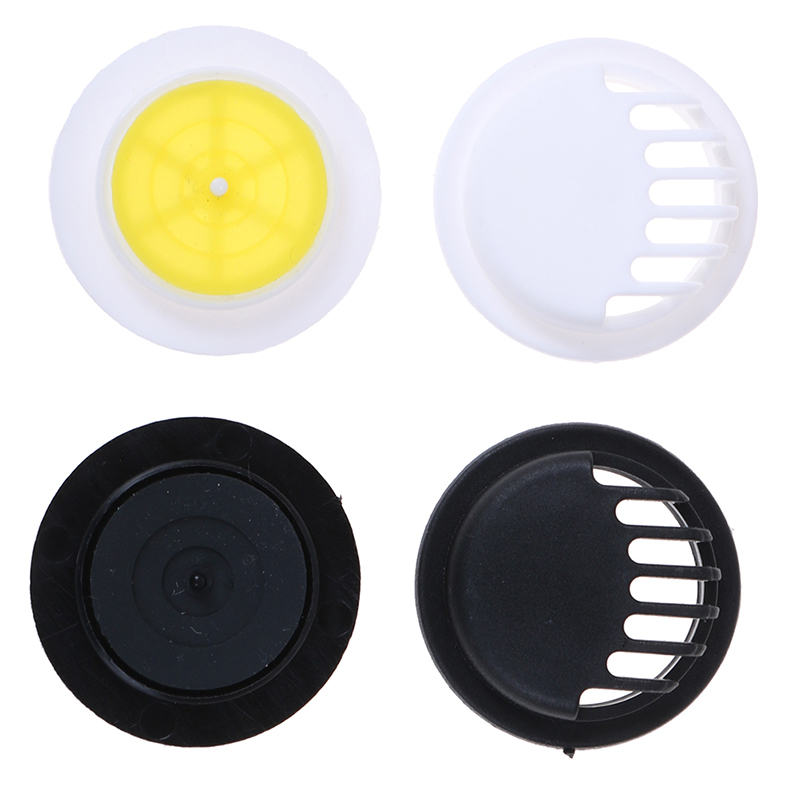 10Pcs Breathing Mask Valve Round Shape Replacement Activated Carbon Breathing Filters Air Valve Filter Mask Accessories