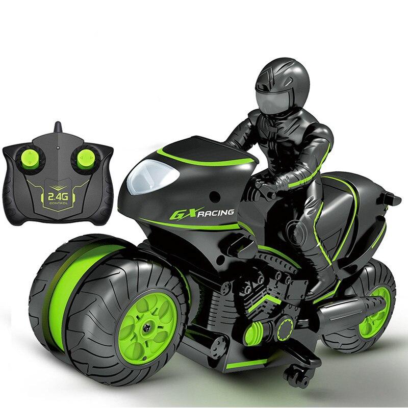 Kinder Motorrad Elektrische Fernbedienung Auto Mini Motorrad 2,4 ghz Racing Motorrad Stunt-Auto Fernbedienung Spielzeug Junge Spielzeug