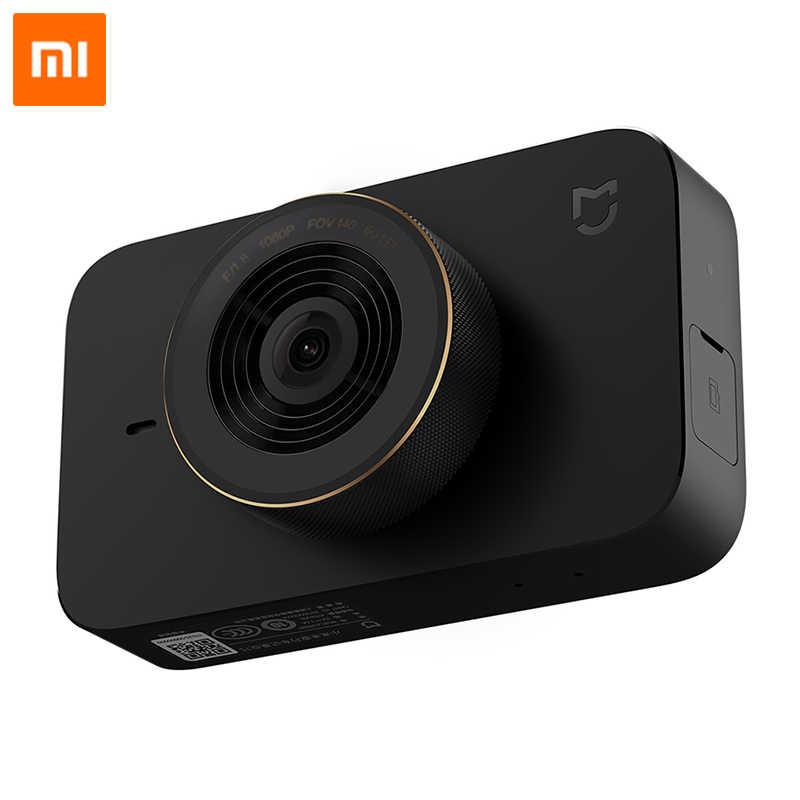 Xiaomi Mijia רכב DVR מצלמה חכם WIFI 1080P HD ראיית לילה דאש מצלמת וידאו נהיגה מקליט 140 תואר רחב זווית קול שליטה