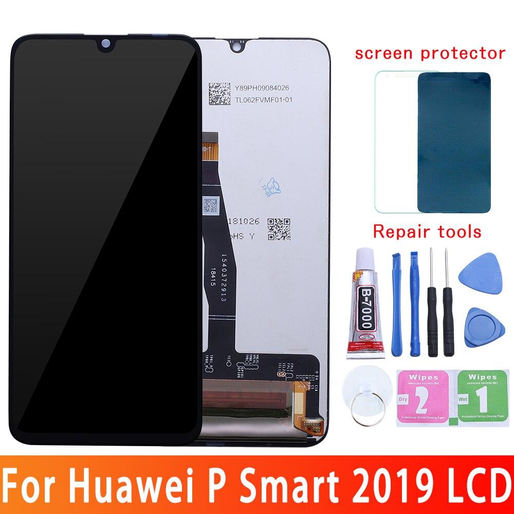 ЖК-экран для Huawei P Smart 2019 POT-LX1 L21 LX1RUA LX3 ЖК-дисплей 10 сенсорный экран Замена для P Smart 2020 POT-LX1A/L21A