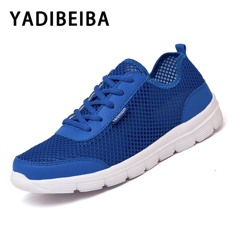 Men Casual Shoes Breathable Mesh Men Sneakers Slip-on Men Shoes Light Walking Shoes Sneakers Male Shoes Adult Chaussure Homme