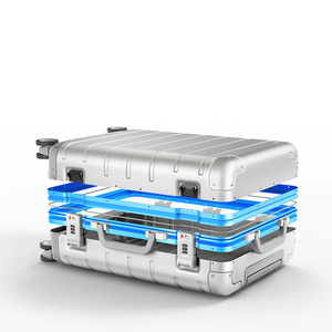 Image 4 - Xiaomi Spinner Wheel Luggage Travel Suitcase 20 inch Carry on with Y belt Pull rod top grade all aluminum magnesium alloy