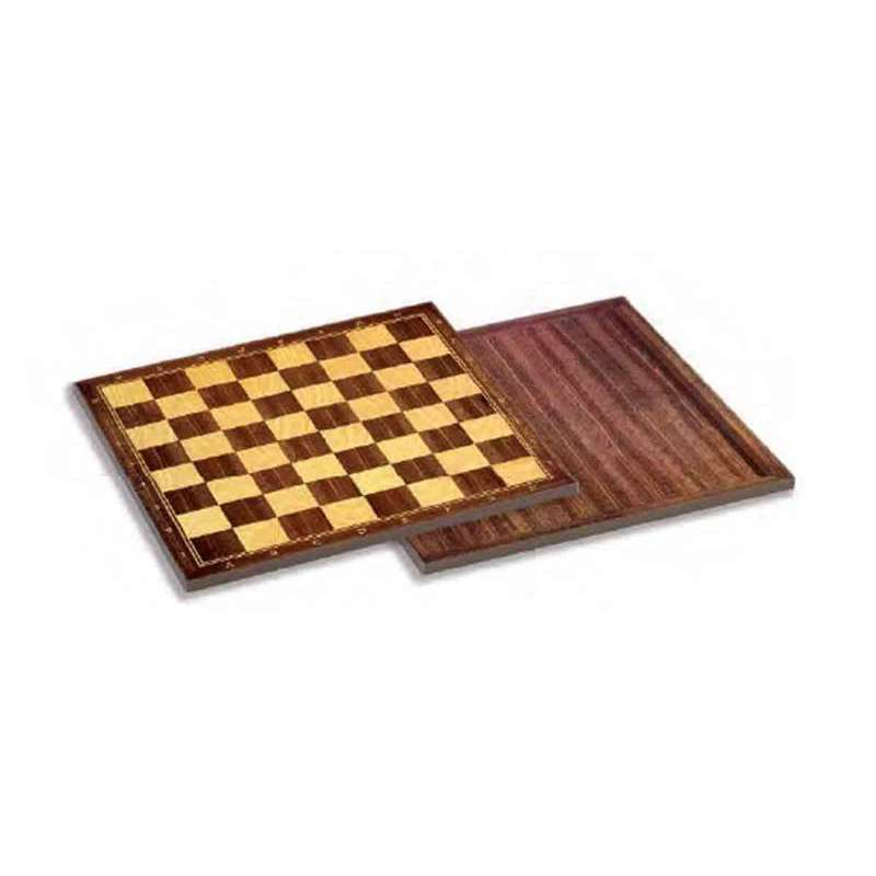 Chess And Checkers Board Cayro Wood (40 X 40 Cm)