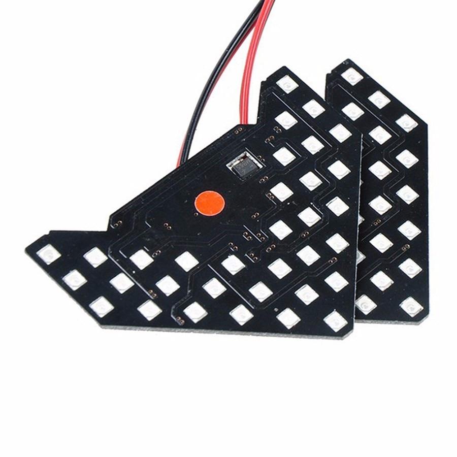 GEETANS 2PCS / Set 33 SMD LED Arrow Panels Ավտոմեքենայի - Ավտոմեքենայի լույսեր - Լուսանկար 4
