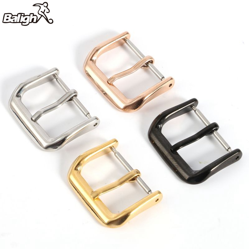 Newest Fashion Stainless Steel Watch Band Buckle Polished Stainless Steel Parts Strap Buckles