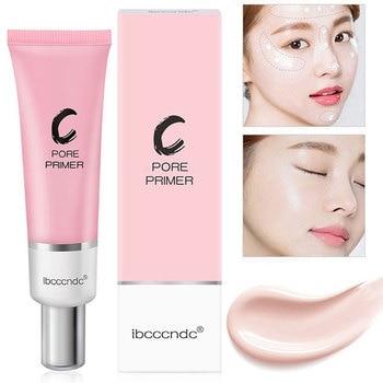 35ml twarzy Zero porów makijaż podkład podkład miękki makijaż niewidoczne skóry porów korektor Korea kosmetyczne