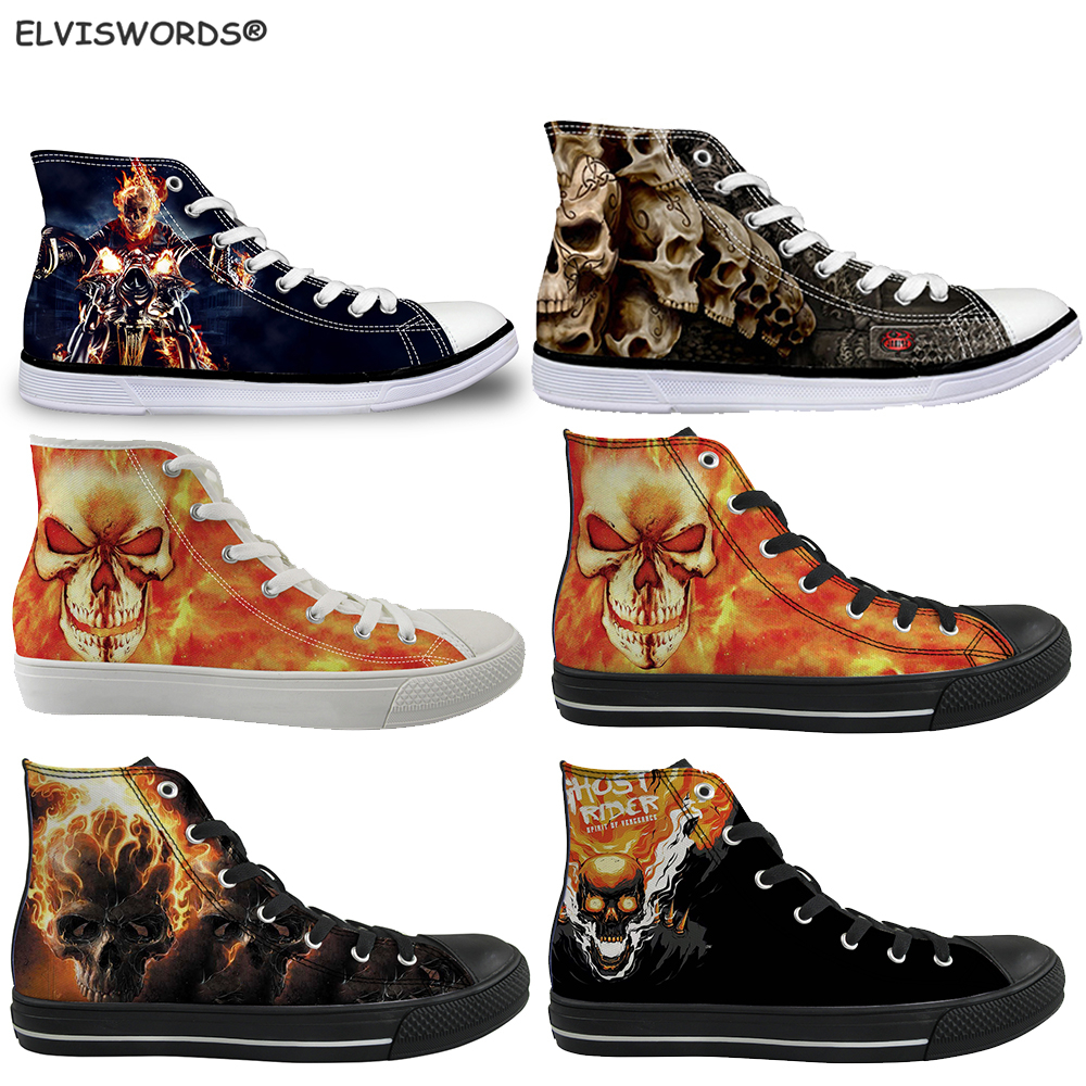 New INSTANTARTS Vulcanize Shoes Women Casual Flats Shoes Cute Pet Dog Print Lace Up High Top Canvas Shoes Border Collie Sneakers