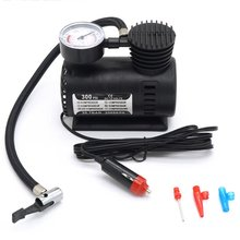 Mini Air Compressor Electric Pump ABS Automotive Durable Vehicle 300 PSI Tire Inflator DC 12V Car Parts