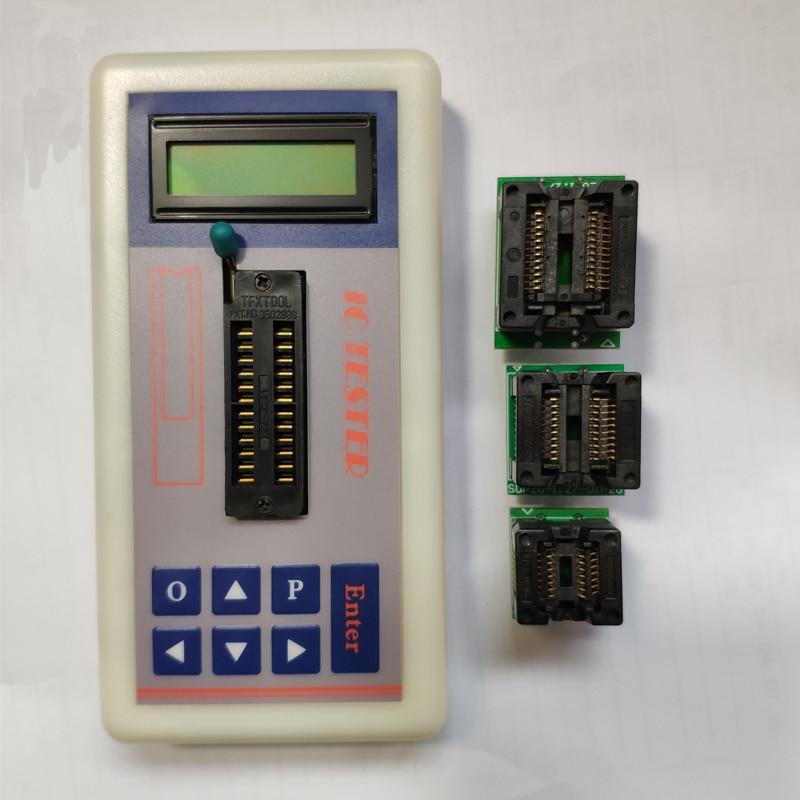 Professional Integrated Circuit IC Tester Transistor Tester Online Maintenance Digital Led Transistor IC Tester   2