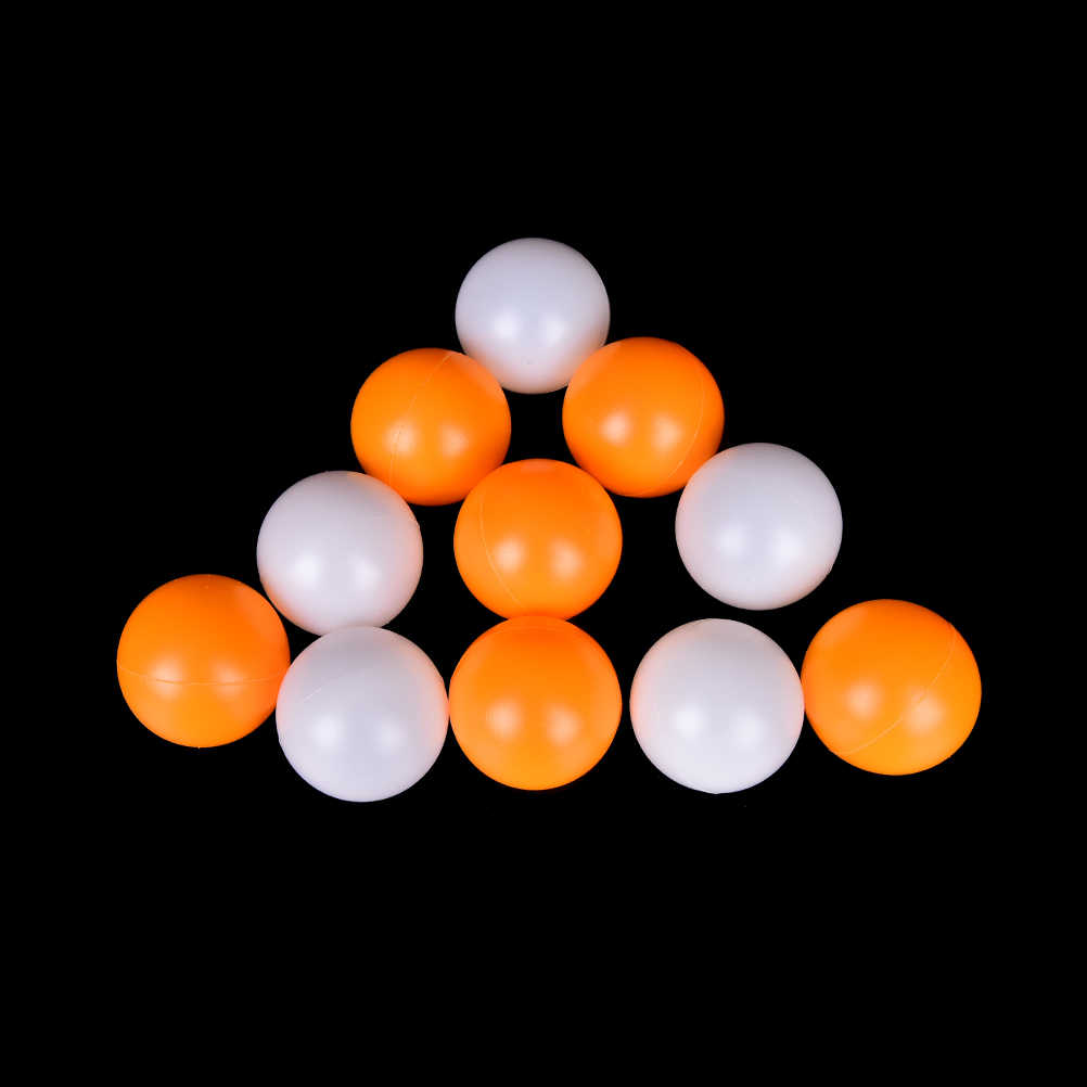 60Pcs White Ping Pong Balls Practice Table Tennis Ball Beer Lucky Dip Lot 40MM