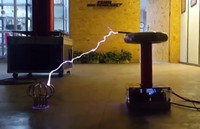 0.5m Lightning Tesla Coil DRSSTC / Music Tesla Electric Ring / Artificial Lightning / Experimental Display