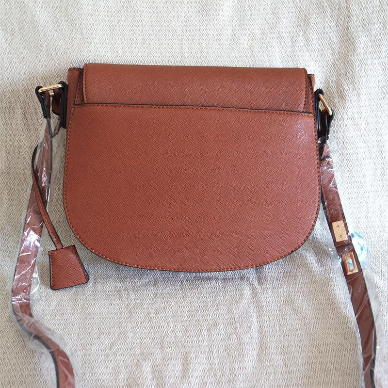 Multicolor Vintage Saddle Bag Concise Shoulder Bag Crossbody Bag Handbag PU For Women &Girls Fashion Low Maintenance
