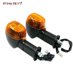 Z przodu kierunkowskazy LED wskaźnik światło lampy dla KAWASAKI ZX 6R ZX 6RR ZX 7 ZX 7R ZX 7RR ZX 9R ZX 12R NINJA ZX6R ZX6RR motocykl na