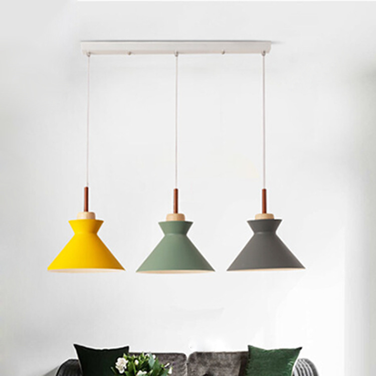 of contemporary and contracted three dining room lights Nordic personality bar sitting room bedroom chandeliers
