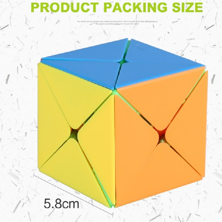Shengshou Legend 8 Axis Dino Magic Cube Puzzle SkewCube 5.8cm Twist Puzzles Professional Educational Kid Toys Games