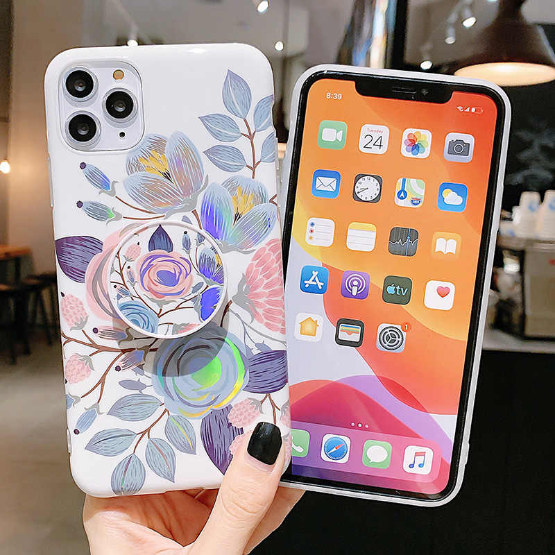 Coque pour iPhone 11 en Silicone Marbre antichoc Protection