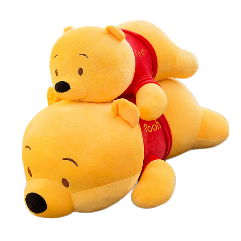 Disney Winnie The Pooh Pillow Toy Soft Plush Doll Cute Cartoon Anime Bear Animal Children's Boy Girl Kid Birthday Gift
