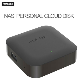 AirDisk NAS Q1 mobile hard disk box home  network storage server cloud storage private cloud local area network 1