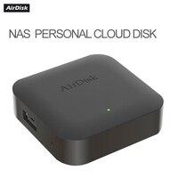 Airdisk nas q1, hd móvel, caixa de armazenamento de rede doméstica, servidor de armazenamento em nuvem, rede local privada de área