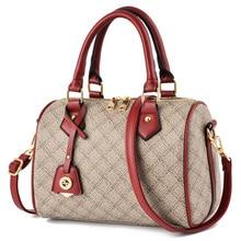 2019 Luxury Designer Boston Handbag Women Leather Handbags Female Shoulder Bag Printing Ladies Tote Bags For Women Bolsas Sac