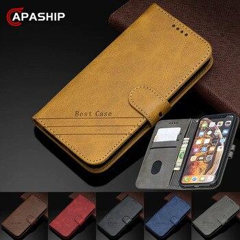 Перейти на Алиэкспресс и купить Кожаный чехол-книжка с геометрическим рисунком для RedMi Note 5 6 7 8 Pro 8Pro 6A 7A 8A 8t, чехол для XiaoMi Mi A1 A2 A3 CC9, чехлы-бумажники из искусственной кожи