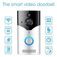 1080P kablosuz kapı zili kamera WiFi hareket dedektörü ev güvenlik sistemi için su geçirmez gözetim Video kapı zili kamera