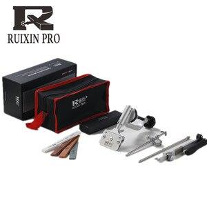 Image 4 - Ruixin pro sistema de afiador de faca, afiador de facas de liga de alumínio em 360 graus, ferramenta de moagem constante, com 4 peças de pedras